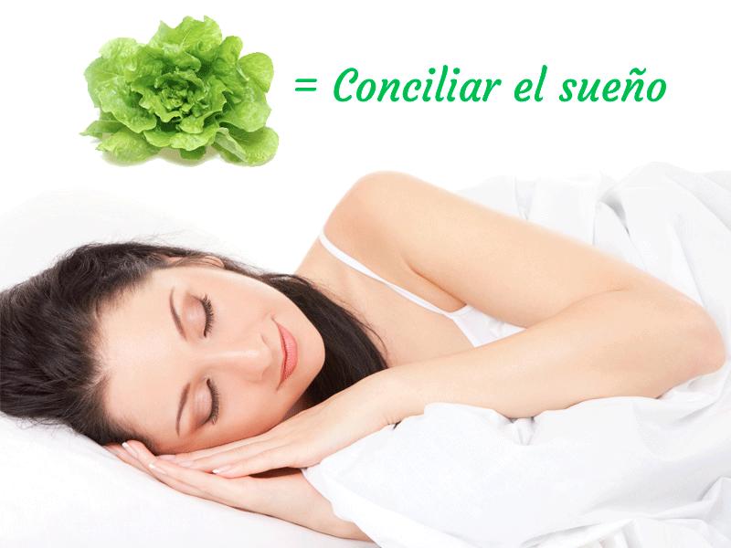 Lechuga, remedio para conciliar el sueño